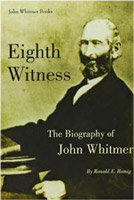 "Book cover for ""Eighth Witness: The Biography of John Whitmer"""