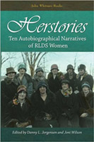 "Book cover for ""Herstories: Ten Autobiographical Narratives of RLDS Women"""