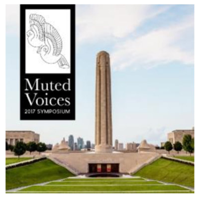 Muted Voices event graphic
